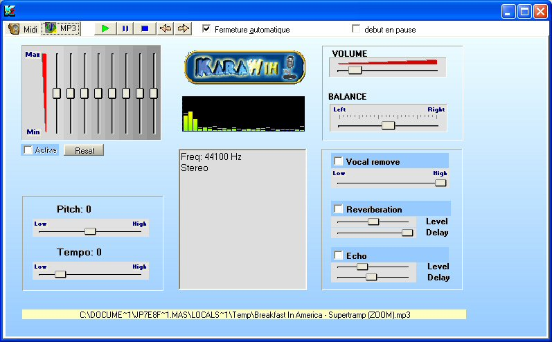 Mp3 Window